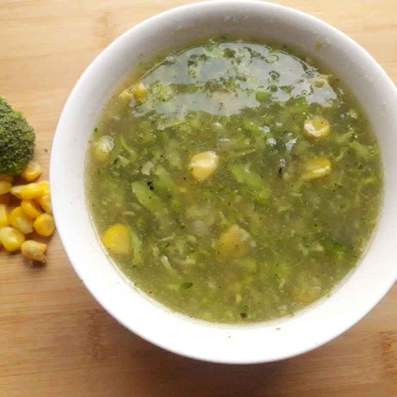 Photo of Sweetcorn broccoli soup by Uma Purohit at BetterButter