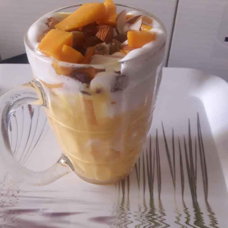 Photo of Mango mastani by Uma Purohit at BetterButter
