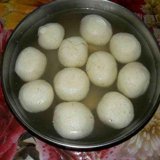 How to make রসগোল্লা।