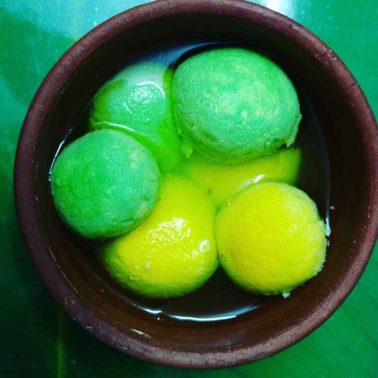 Photo of Kesar Pista Rosogolla. by Priyanka Nandi at BetterButter