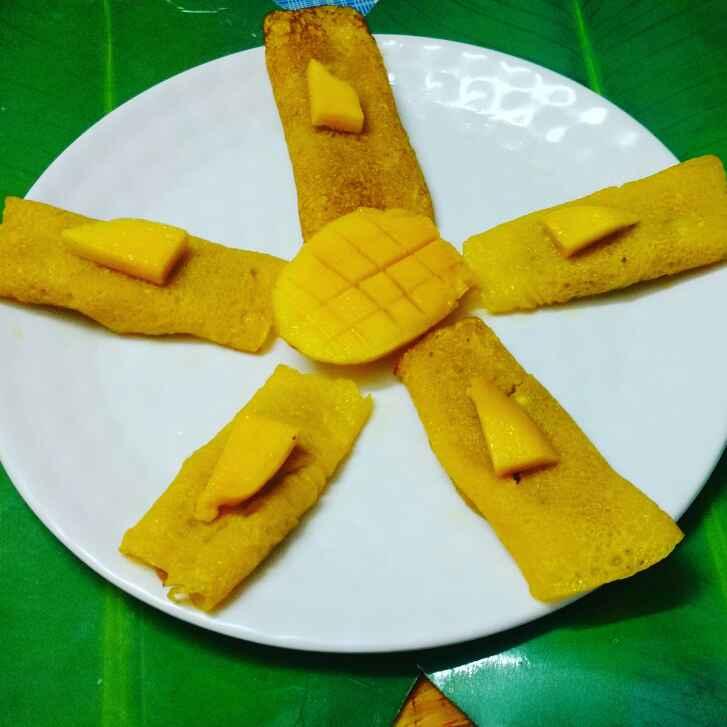 Photo of Mango patisapta. by Priyanka Nandi at BetterButter