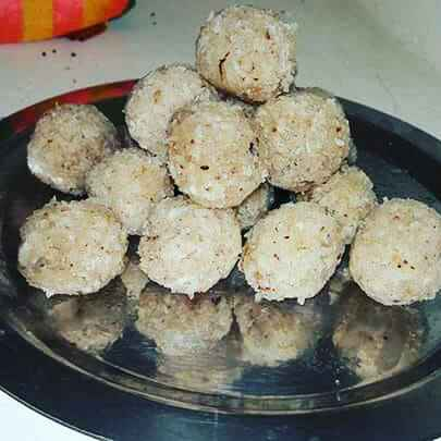 How to make Coconut laddu.