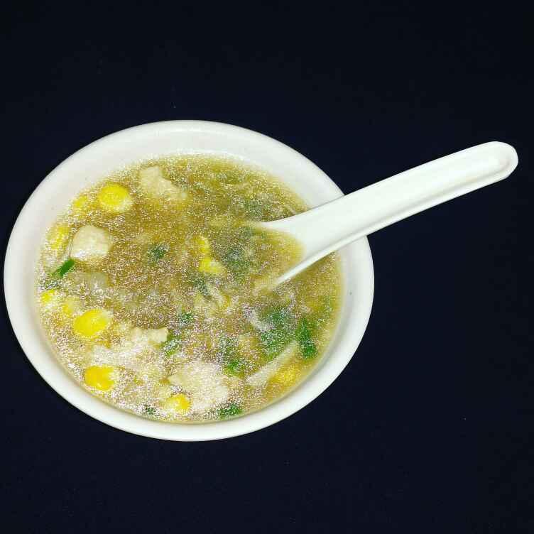 Photo of chicken corn soup. by Priyanka Nandi Sarkar at BetterButter