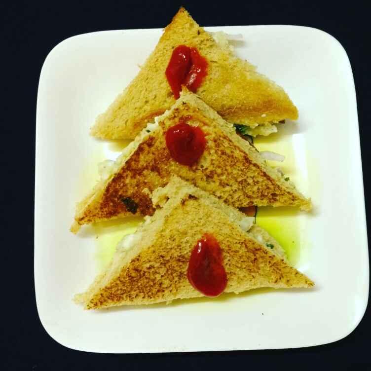 Photo of Egg sandwich. by Priyanka Nandi at BetterButter