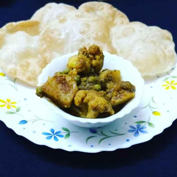 Photo of Fulgobi aalu rosa by Priyanka Nandi at BetterButter