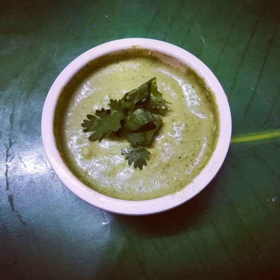 Photo of Green chatni. by Priyanka Nandi Sarkar at BetterButter