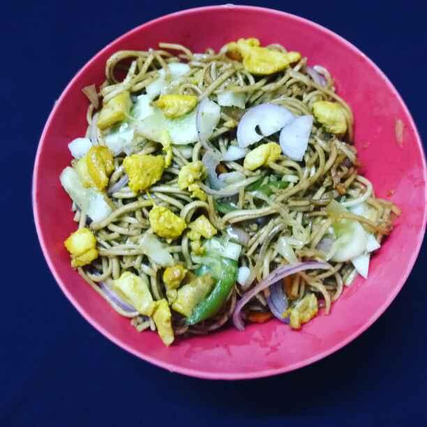Photo of chicken noodles. by Priyanka Nandi at BetterButter