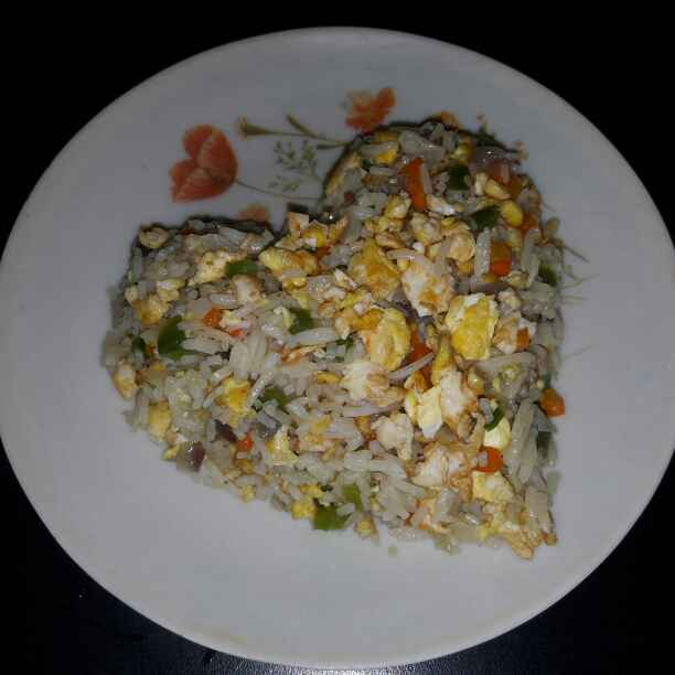 Photo of Simple and Easy Egg Rice by Priyanka Tarafdar at BetterButter
