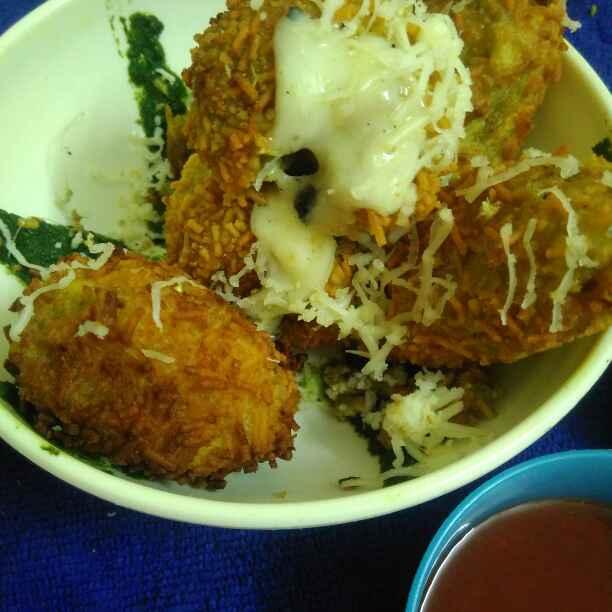 Photo of Hari chutney cheesy blast by Priyanka Vashisht at BetterButter