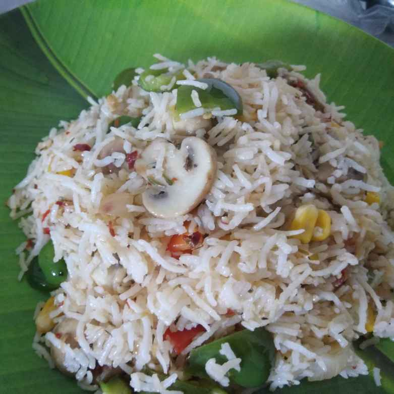 Photo of Mixed herb rice by Pubali Acharyya at BetterButter