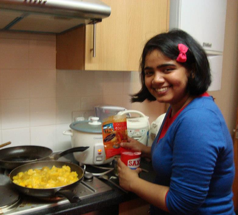 DEVIKA MENON food blogger