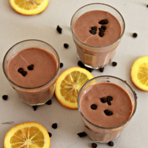 How to make Eggless Chocolate Orange Mousse
