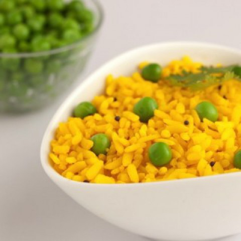 How to make Pea Poha