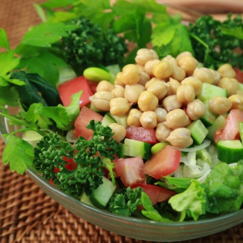 Photo of Chickpea Salad by Maisha Kukreja at BetterButter
