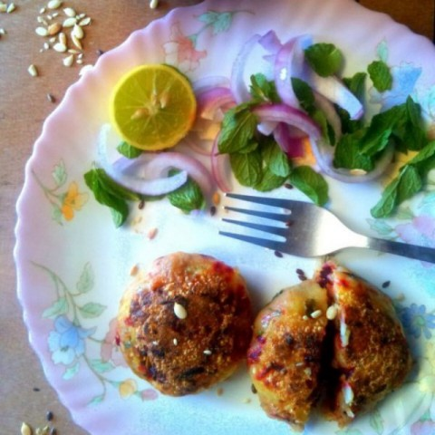 Photo of Beetroot chops by Shirin Mehrotra at BetterButter
