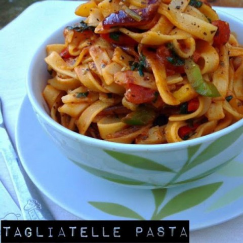Photo of Tagliatelle Pasta by sapana behl at BetterButter
