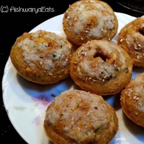 Photo of All Oats Low Fat Pizza Muffins by Aishwarya Lahiri Khanna at BetterButter