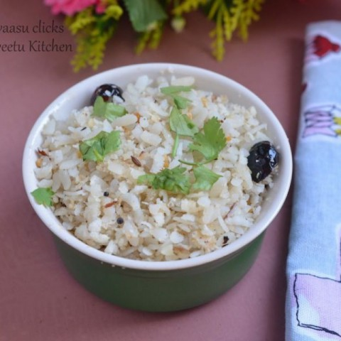 How to make Coconut Poha