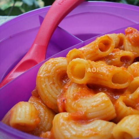 Photo of Roasted Peppers Pasta (with Sambar masala) by sweta biswal at BetterButter
