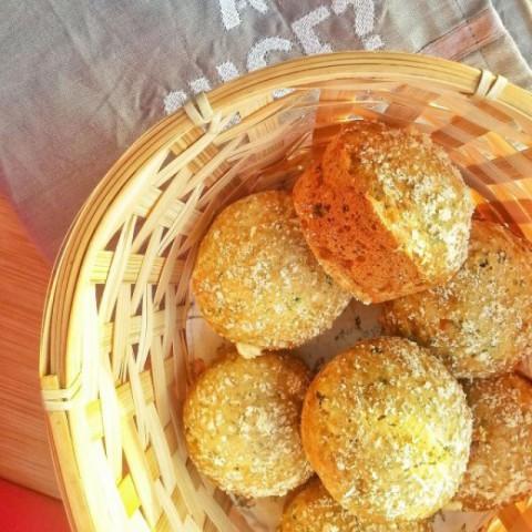 Photo of Pesto Cheddar Savory Muffins by Tasneem Rajkotwala at BetterButter