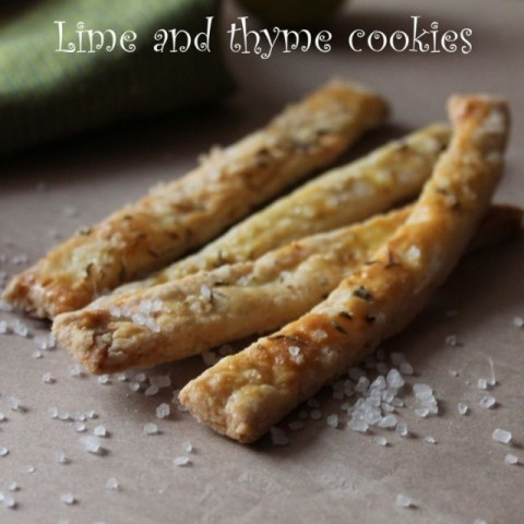 How to make Lime & Thyme Cookies