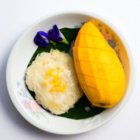 How to make Thai Sticky Coconut Rice with Mango