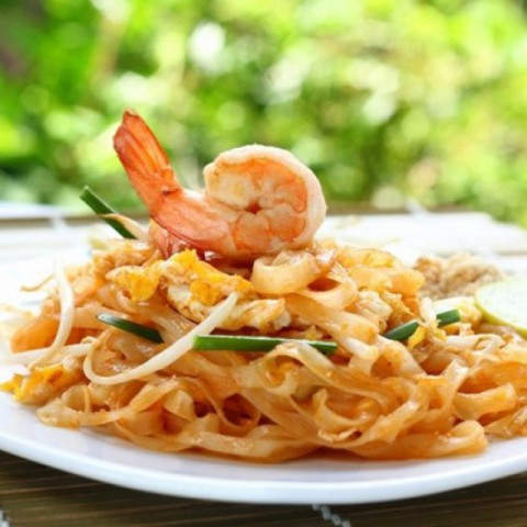 Photo of Spicy Pad Thai with shrimp by Bindiya Sharma at BetterButter
