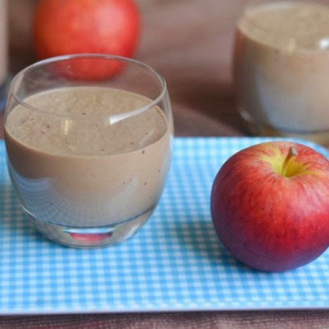 How to make Apple - Chocolate Smoothie