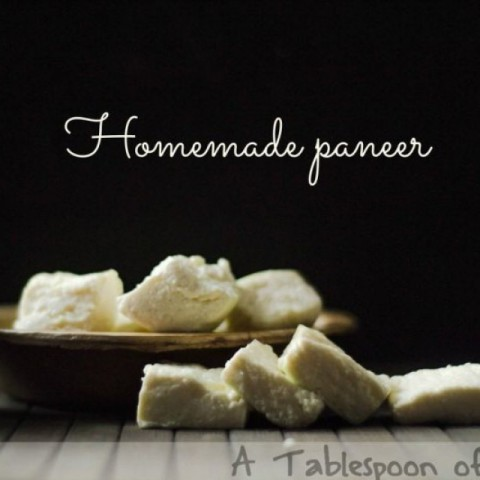 How to make Homemade Paneer/Indian Cottage Cheese