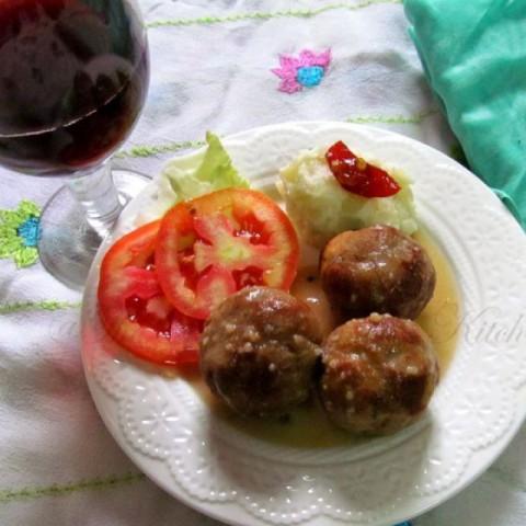 Photo of Lihapulla /Meatballs (sans the meat )Finnish way by Archana Potdar at BetterButter