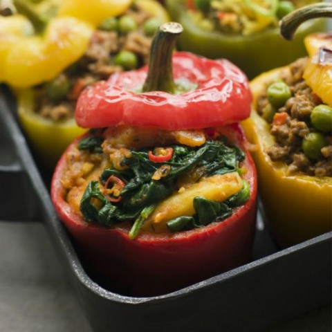 Photo of Stuffed Bell Peppers by Ruchira Hoon at BetterButter