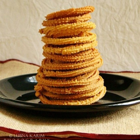 Photo of Muruku/Murukulu/Murukku by Lubna Karim at BetterButter