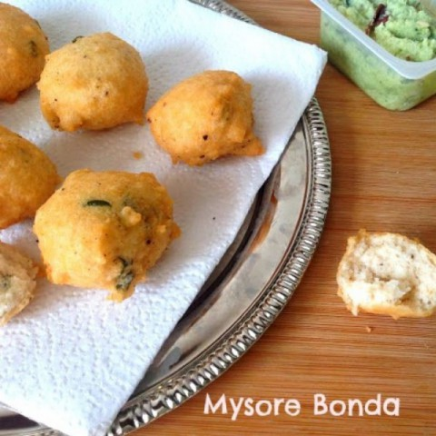 How to make Mysore Bonda