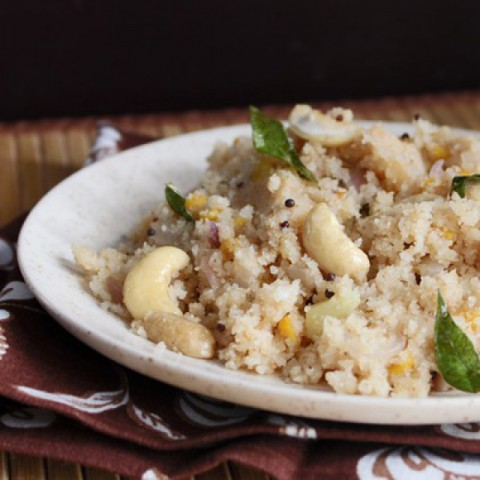 How to make Upma