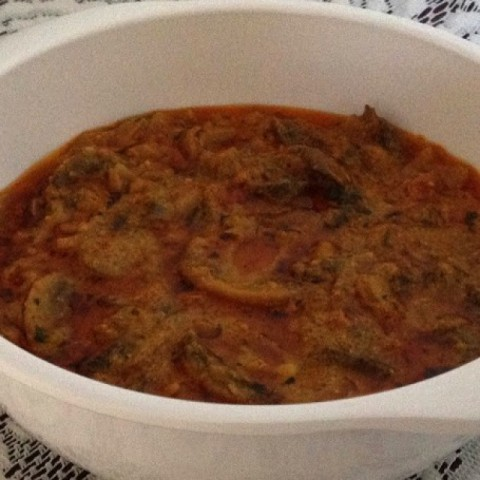 Photo of Creamy Mushroom Masala by Razina Javed at BetterButter