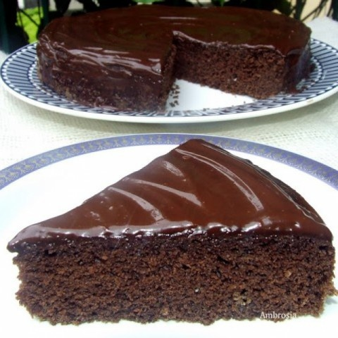 Photo of Wacky Chocolate Cake (Egg less) by Namita Tiwari at BetterButter
