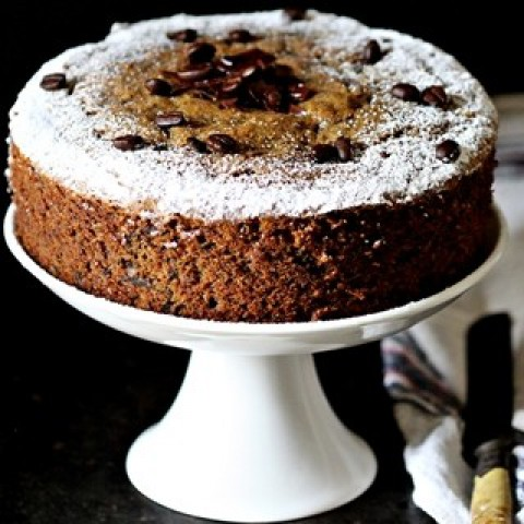 Photo of Whole Wheat Coffee & Dark Chocolate Pound Cake by Deeba Rajpal at BetterButter