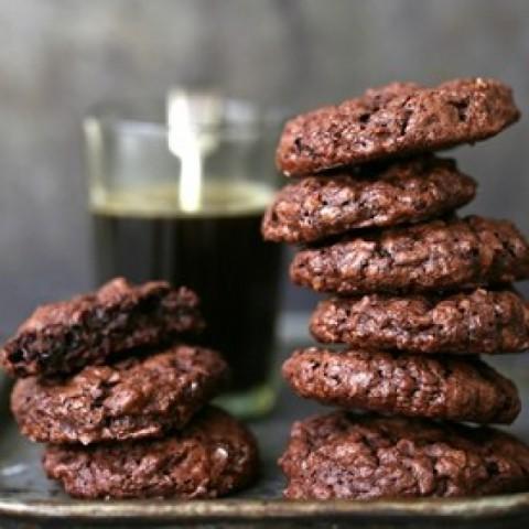How to make Wholewheat & Oat Dark Chocolate Brownie Cookies