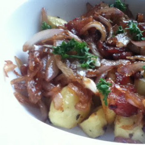 Photo of Baby potato and bacon salad by Shirin Mehrotra at BetterButter