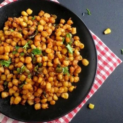 Photo of Crispy Corn Kernels by Anjana Chaturvedi at BetterButter