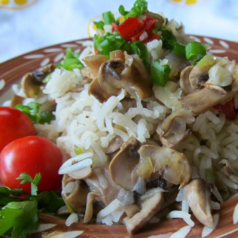 Photo of Lemony Mushroom Pulao by Archana Potdar at BetterButter