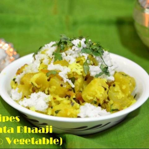 Photo of Dry Potato Sabzi by Amarendra Mulye at BetterButter