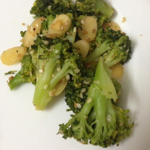 Photo of Warm Broccoli and Almond Salad by Pallavi Purani at BetterButter