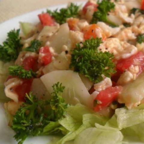 Photo of Tomato & Egg Salad by Linu Freddy at BetterButter