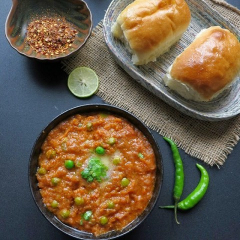 Photo of Mumbai Pav Bhaji by Anjana Chaturvedi at BetterButter
