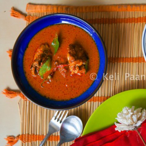 Photo of Chicken Puli Munchi/Chicken in Tangy Hot curry- Mangalorean style by Anitha Nayak at BetterButter
