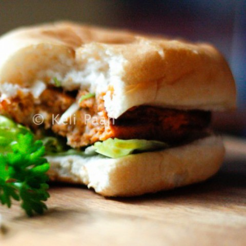 Photo of Red pesto Egg Bomb Burgers by Anitha Nayak at BetterButter