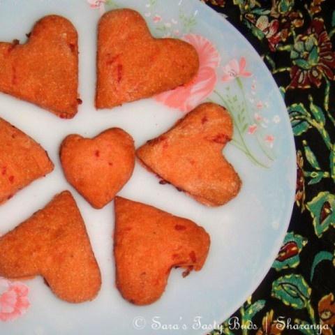 Photo of Spiced Beetroot  Sugar Cookies by sharanya palanisshami at BetterButter