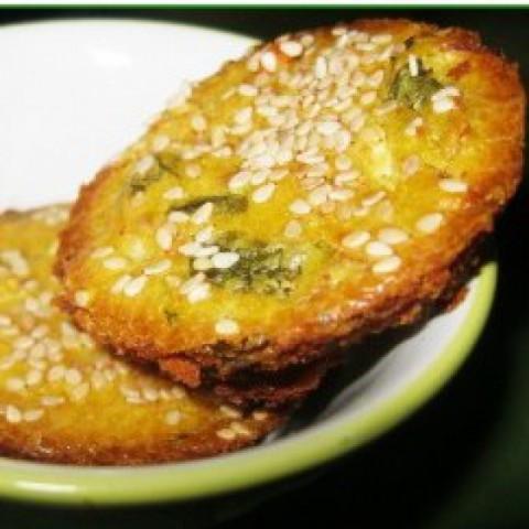 Photo of Sesame Veggie Bites by Simran Oberoi Multani at BetterButter
