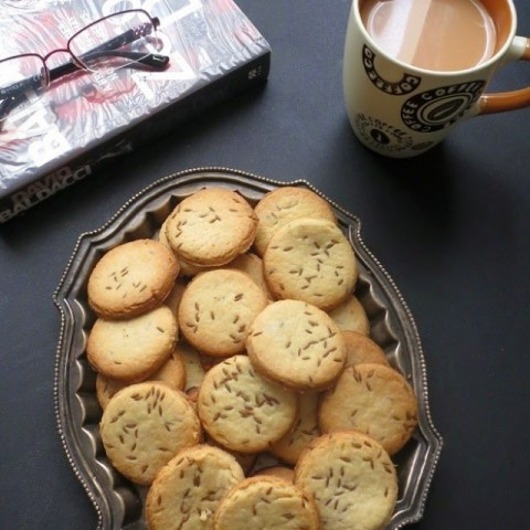 How to make Eggless Jeera Biscuits